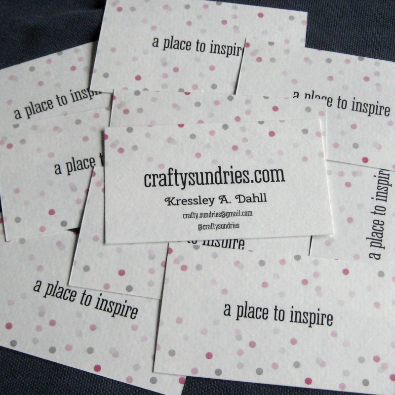 pile of business cards 2