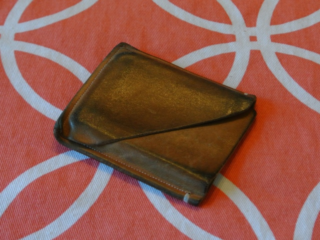 leather wallet + free pattern : Crafty Sundries