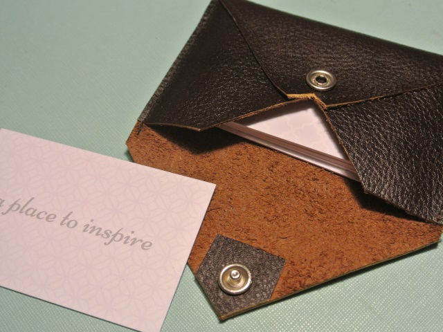 businesscard - Leather Business Card Holder